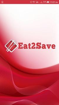 Eat2Save Merchant poster