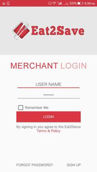 Eat2Save Merchant apk screenshot