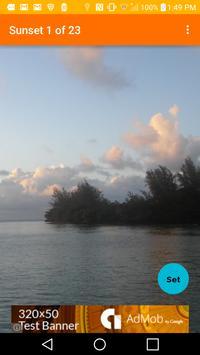 Kauai Sunsets Wallpaper apk screenshot