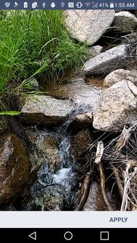 Mountain Stream Wallpaper apk screenshot
