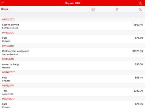 My Cars apk screenshot