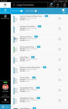 IntelligenceBank BoardHub apk screenshot