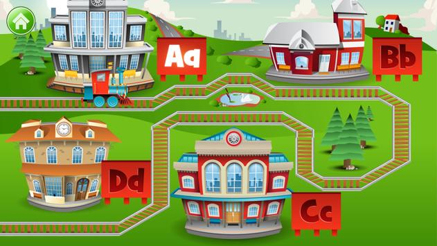 Learn Letter Names and Sounds with ABC Trains apk screenshot