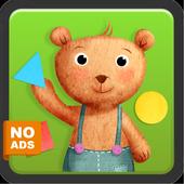 Kids Shapes & Colors Preschool icon