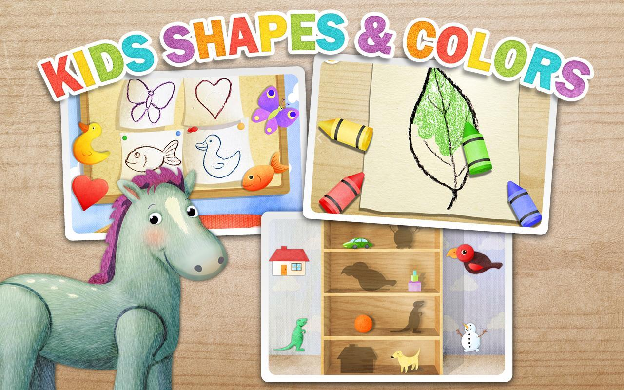 Kids Shapes & Colors Preschool For Android