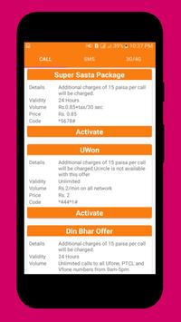 Pakistan Mobile Sim Packages screenshot 3