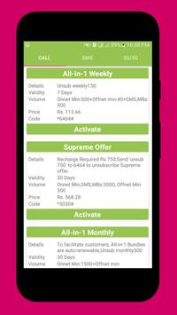 Pakistan Mobile Sim Packages screenshot 4