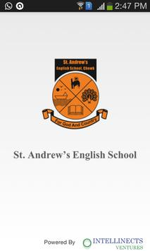 St. Andrew's English School poster