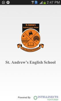 St. Andrew's English School poster