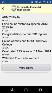 St. John the Evangelist School apk screenshot