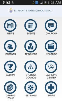 St. Mary's High School (SSC) apk screenshot