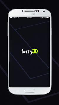 Forty30 poster
