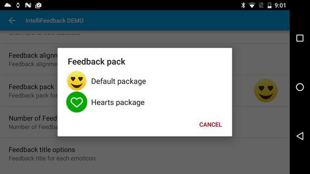Intelli Feedback DEMO screenshot 6