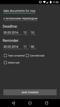 ToDo Task Manager apk screenshot