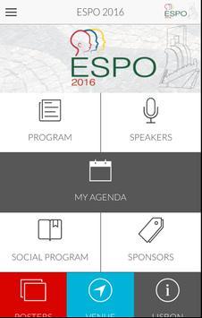 ESPO 2016 poster