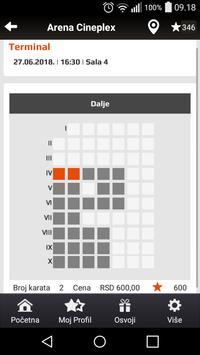 Arena Cineplex screenshot 3