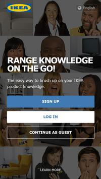 Range knowledge on the go! poster