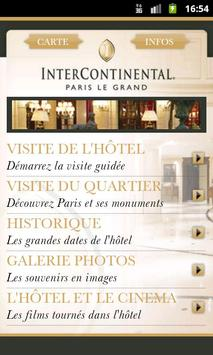 InterContinental Paris poster