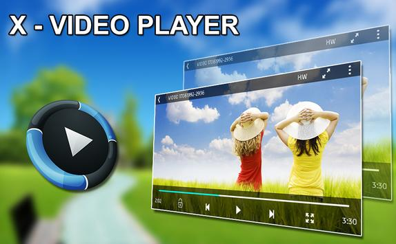X - Video Player poster