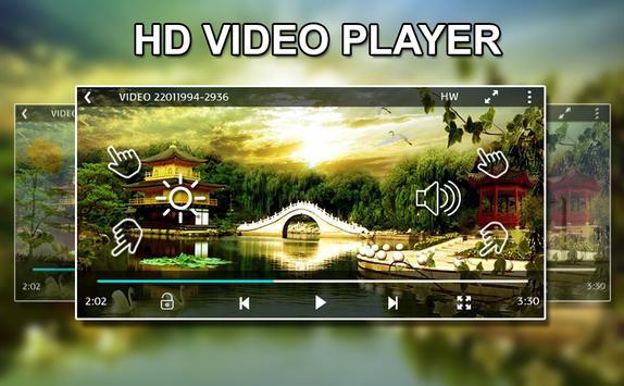 X - Video Player screenshot 1