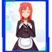 Anime Schoolgirl Interactive Live Wallpaper icon