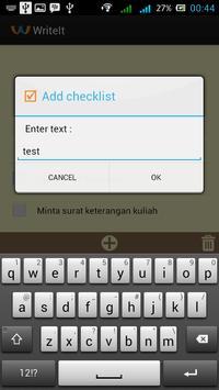WriteIt apk screenshot