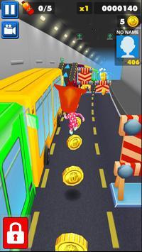 Bandicoot runner screenshot 2