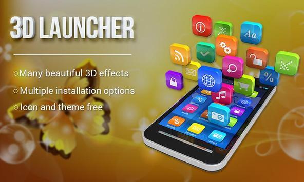 Launcher 3D poster