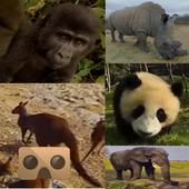 Wild Life Animals VR 360 icon