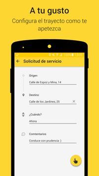 Taximes App - Aplicación taxi apk screenshot