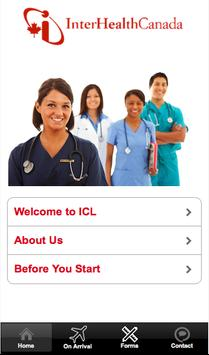 Welcome to InterHealth Canada screenshot 1