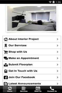 Interior Project poster