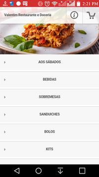 Valentim Restaurante e Doceria poster