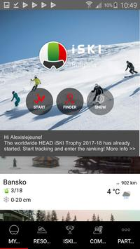 iSKI Bulgaria - Ski, Snow, Resort info, Tracker poster