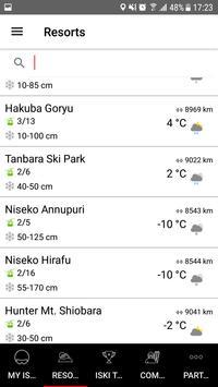 iSKI Japan -  Ski, Snow, Resort Info, GPS Tracker apk screenshot