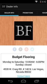 Budget Flooring by DWS poster