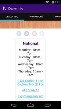 National Carpet and Flooring poster