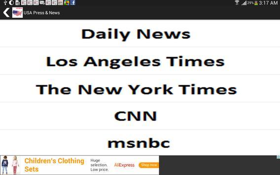 US Press & News screenshot 14