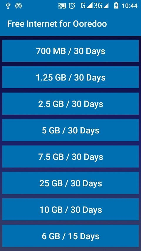 Free Internet For Ooredoo For Android Apk Download