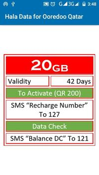 Hala Data for Ooredoo Qatar for Android - APK Download
