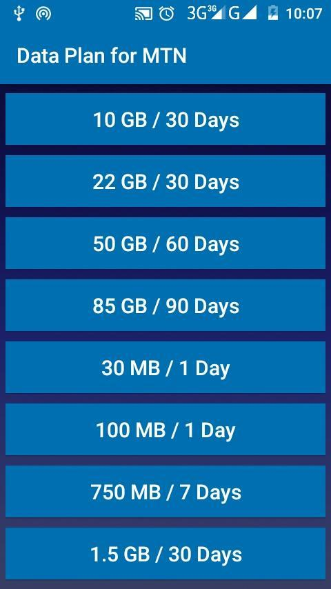 Data Plan For Mtn For Android Apk Download