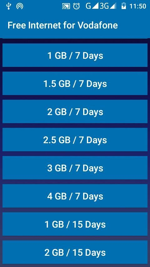 Free Internet for Vodafone for Android - APK Download