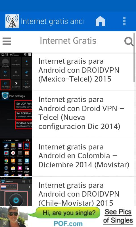 A guide for free internet for Android - APK Download