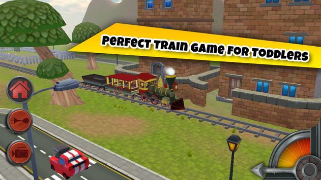 3D Train Game For Kids - Free Vehicle Driving Game screenshot 4
