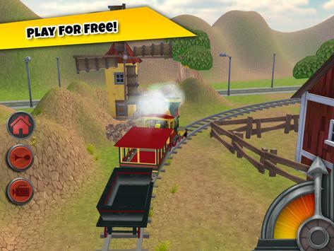 3D Train Game For Kids - Free Vehicle Driving Game screenshot 8