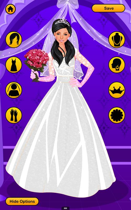 Wedding Dress Up Games Free Bridal Look Makeover For Android Apk