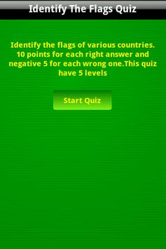 Identify the World Flags Game poster