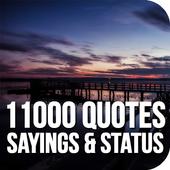 11000 Quotes, Sayings & Status icon