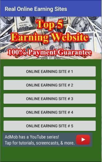 Real Earning Website