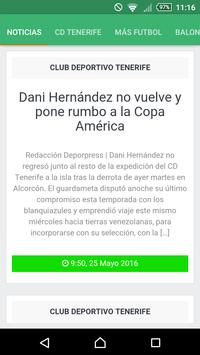 DeporPress App apk screenshot
